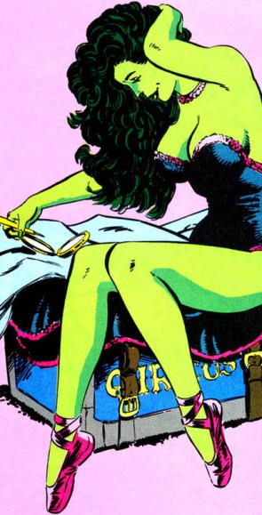 She Hulk joined the circus