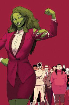 She Hulk justice flex