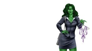 She Hulk little outfit