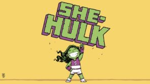 She Hulk points her finger