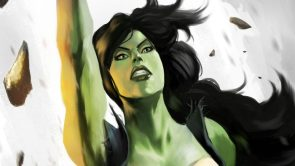 She Hulk punches up