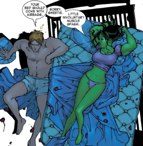 She Hulk should  come with airbags