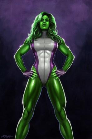 She Hulk stands tall