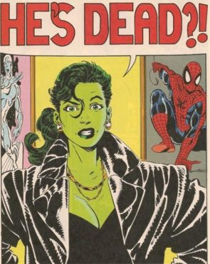 She Hulk thinks he's dead