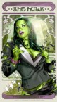 She Hulk  trading card