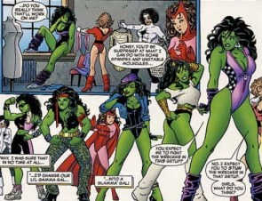 She Hulk unstable molecules