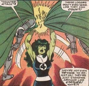 She Hulk vs Doombots