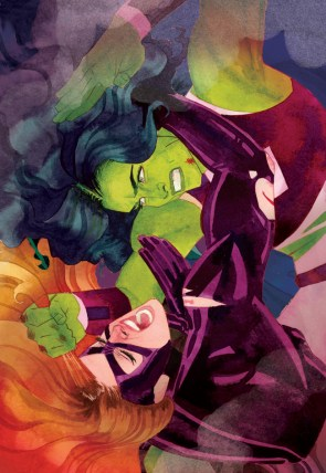 She Hulk vs medusa