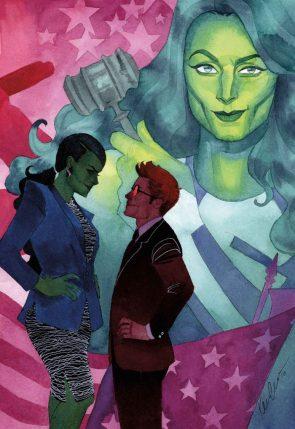 She Hulk with daredevil