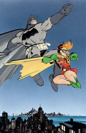 The Dark Knight and Robin