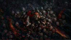 Warhammer 40k – pile of skulls