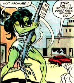 not from she hulk