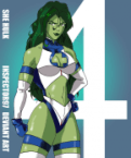 she hulk FF invisible woman outfit