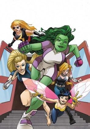 she hulk and female friends