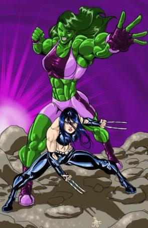 she hulk and x-23