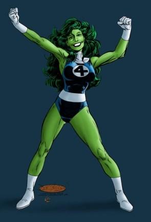 she hulk awesome FF flex