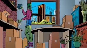 she hulk bridge apartment