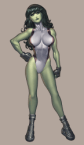 she hulk busty one piece