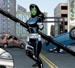 she hulk fighting as shield