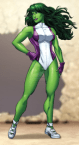 she hulk fit one piece