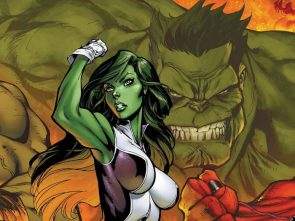 she hulk flexing before the hulk
