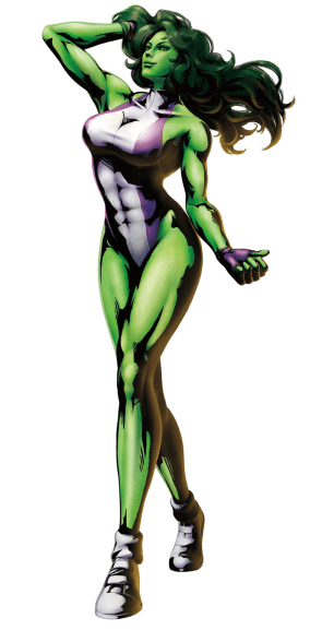 she hulk full body flex