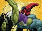 she hulk gets puched by red hulk
