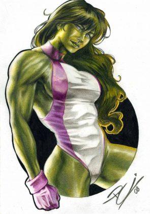 she hulk has a one piece