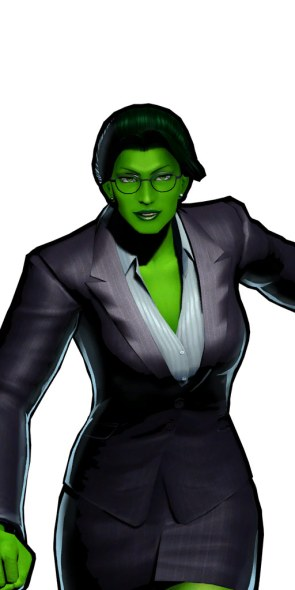 she hulk is a sexy lawyer