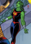 she hulk is all red in the FF