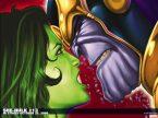 she hulk is angry at thanos