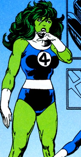 she hulk is bashful