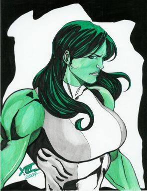 she hulk is busty