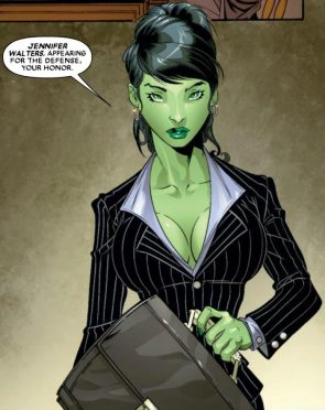 she hulk is jennifer walters