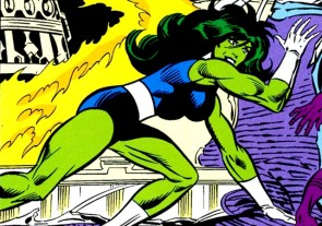she hulk is on fire