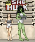 she hulk is savage or human