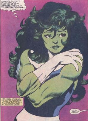 she hulk is wondering