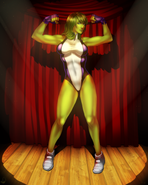 she hulk magical flex