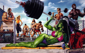 she hulk massive muscle beach