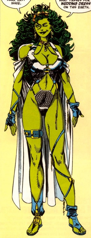 she hulk metal outfit