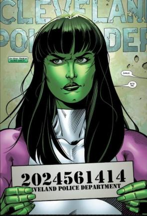 she hulk mug shot