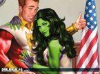 she hulk number 6 wallpaper