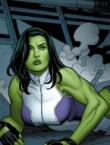 she hulk on her belly