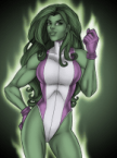 she hulk one fist