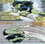 she hulk pushes
