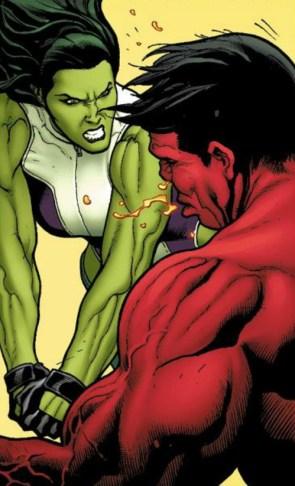 she hulk slams the red hulk