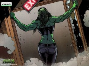 she hulk takes the exit