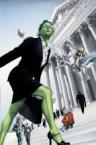 she hulk v1 number 7 – on the court steps