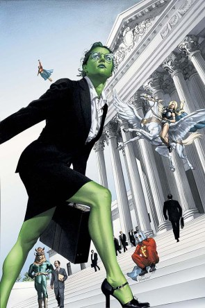 she hulk v1 number 7 – on the court steps