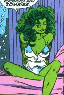 she hulk voodoo and zombies